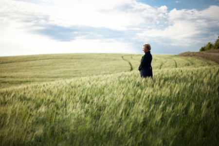 woman in feild