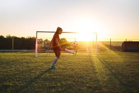Women Soccer Player