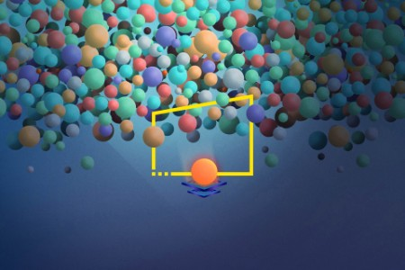 Fcn bubble shooter illustration