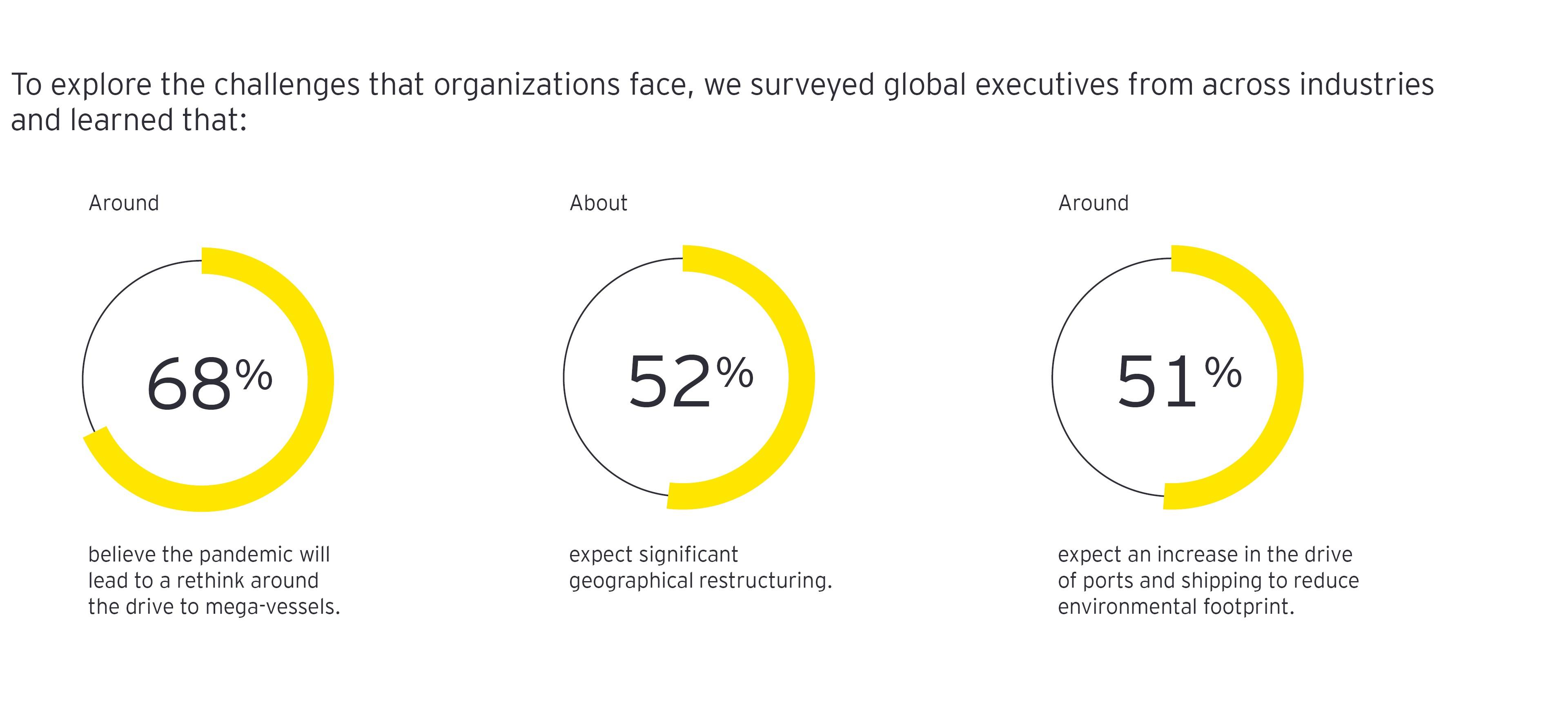Global executives surveyed across industries