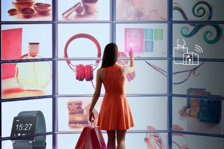 Shopping in a virtual store