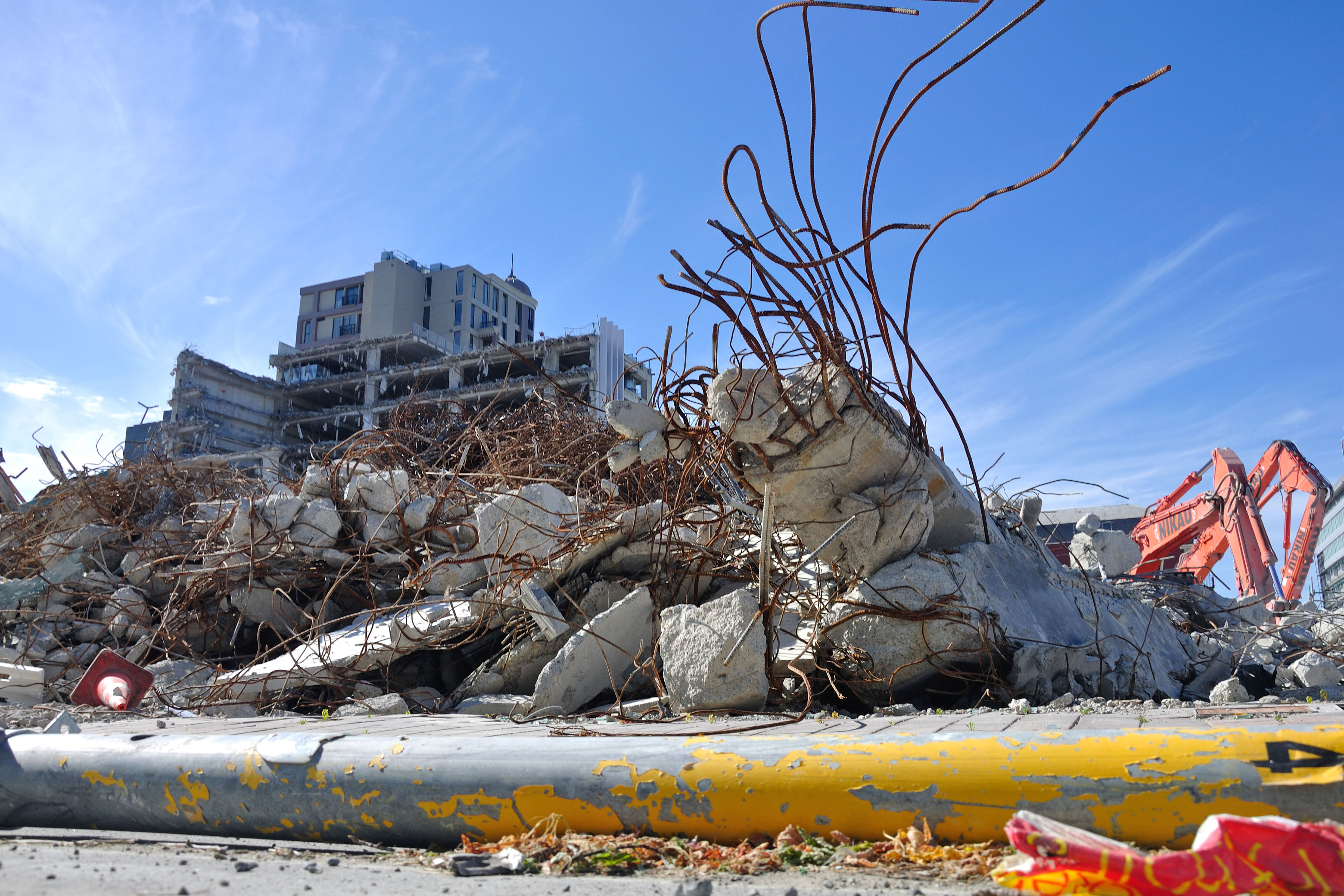 christchurch rubble earthquake