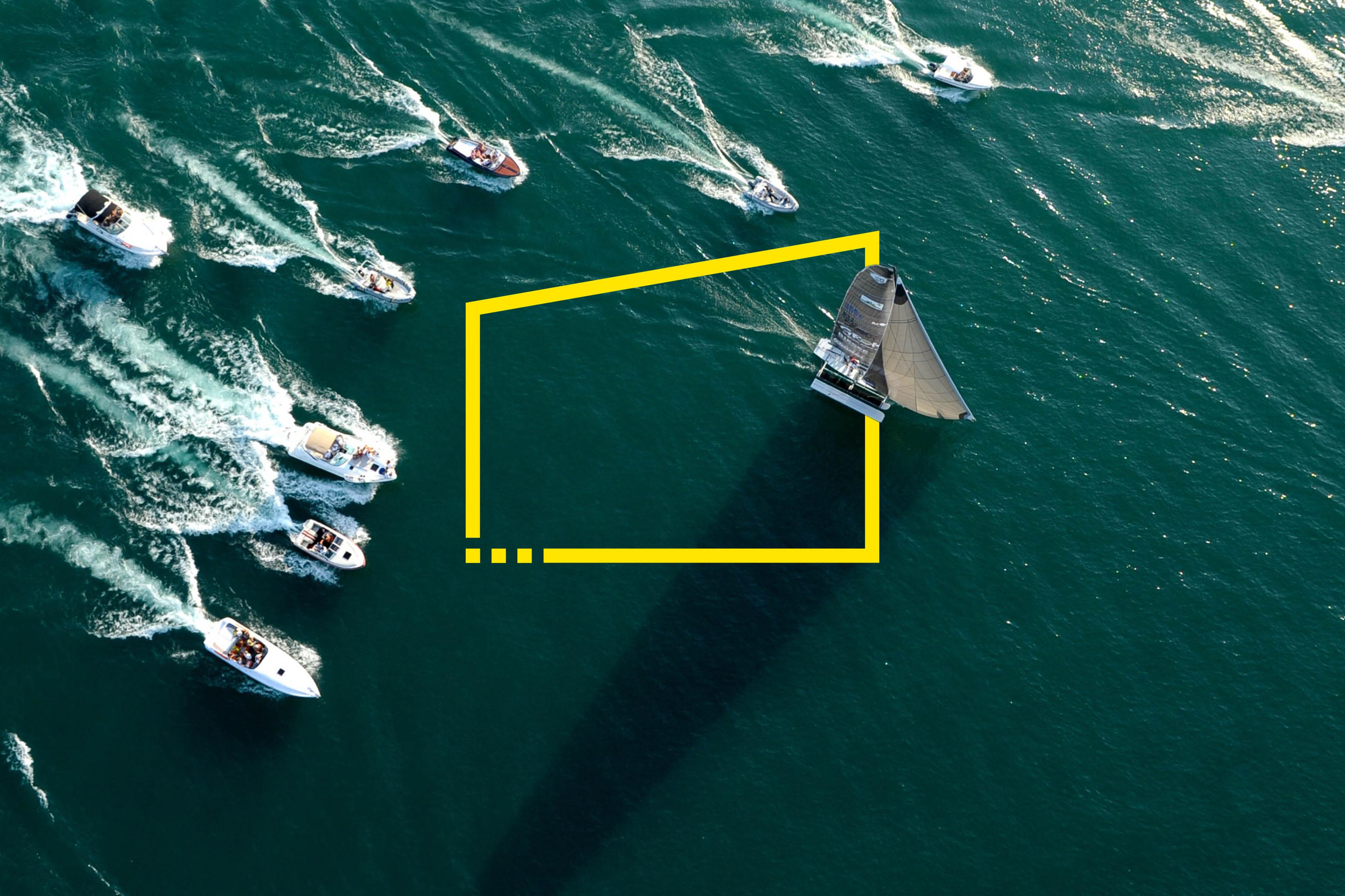 Barcos de competición de alto ángulo