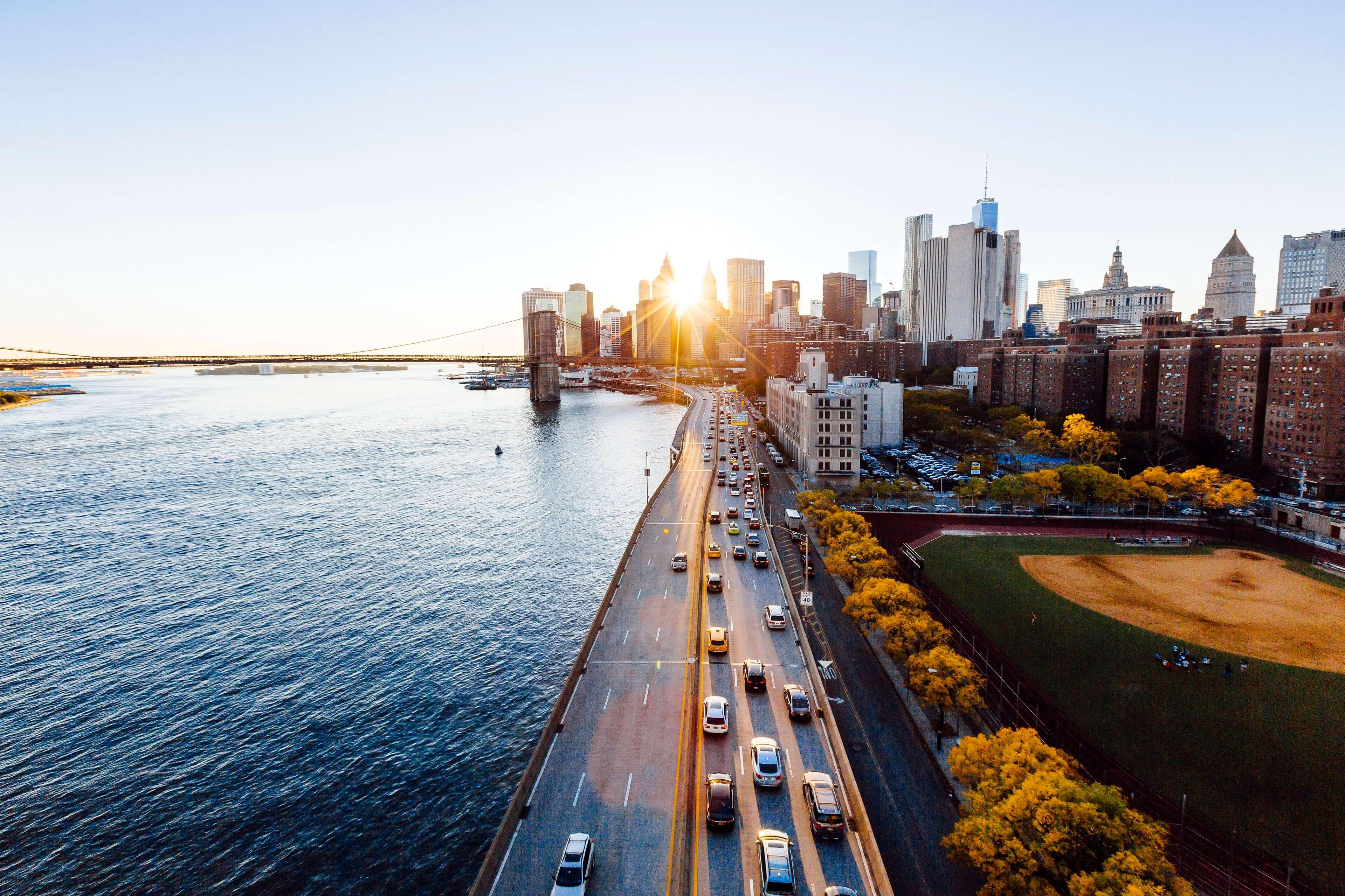 New York cityscape image