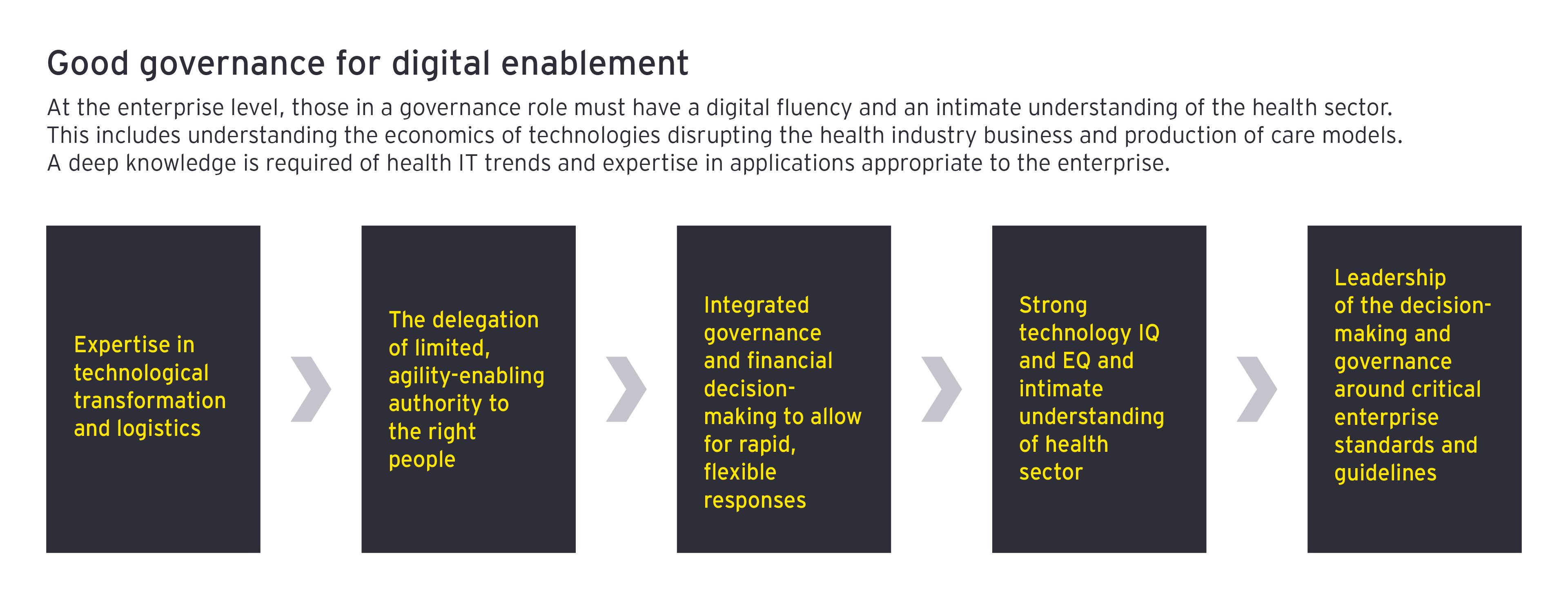 Good governance for digital enablement