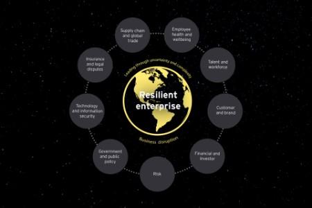 Enterprise resilience framework article graphic