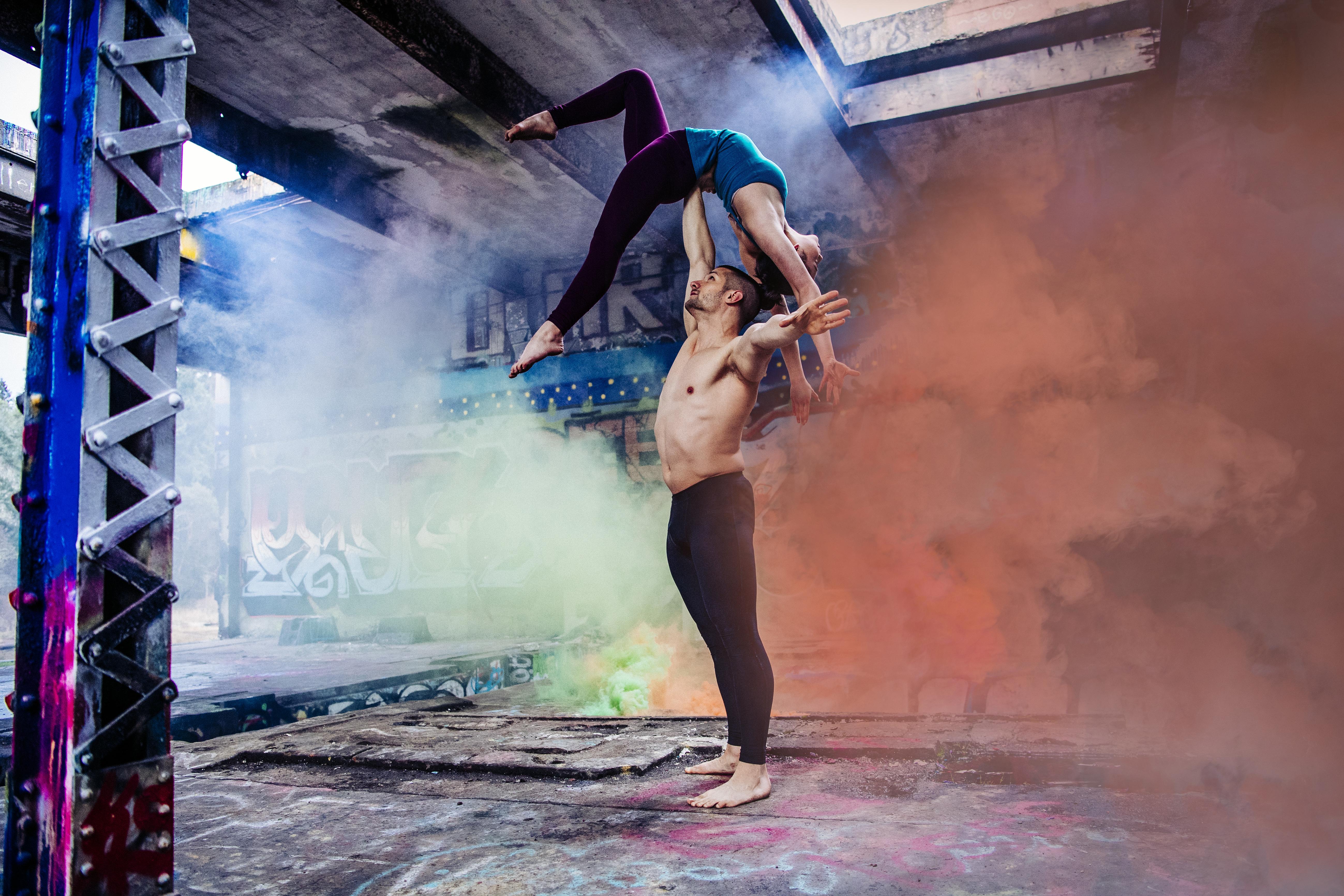 dancing man woman