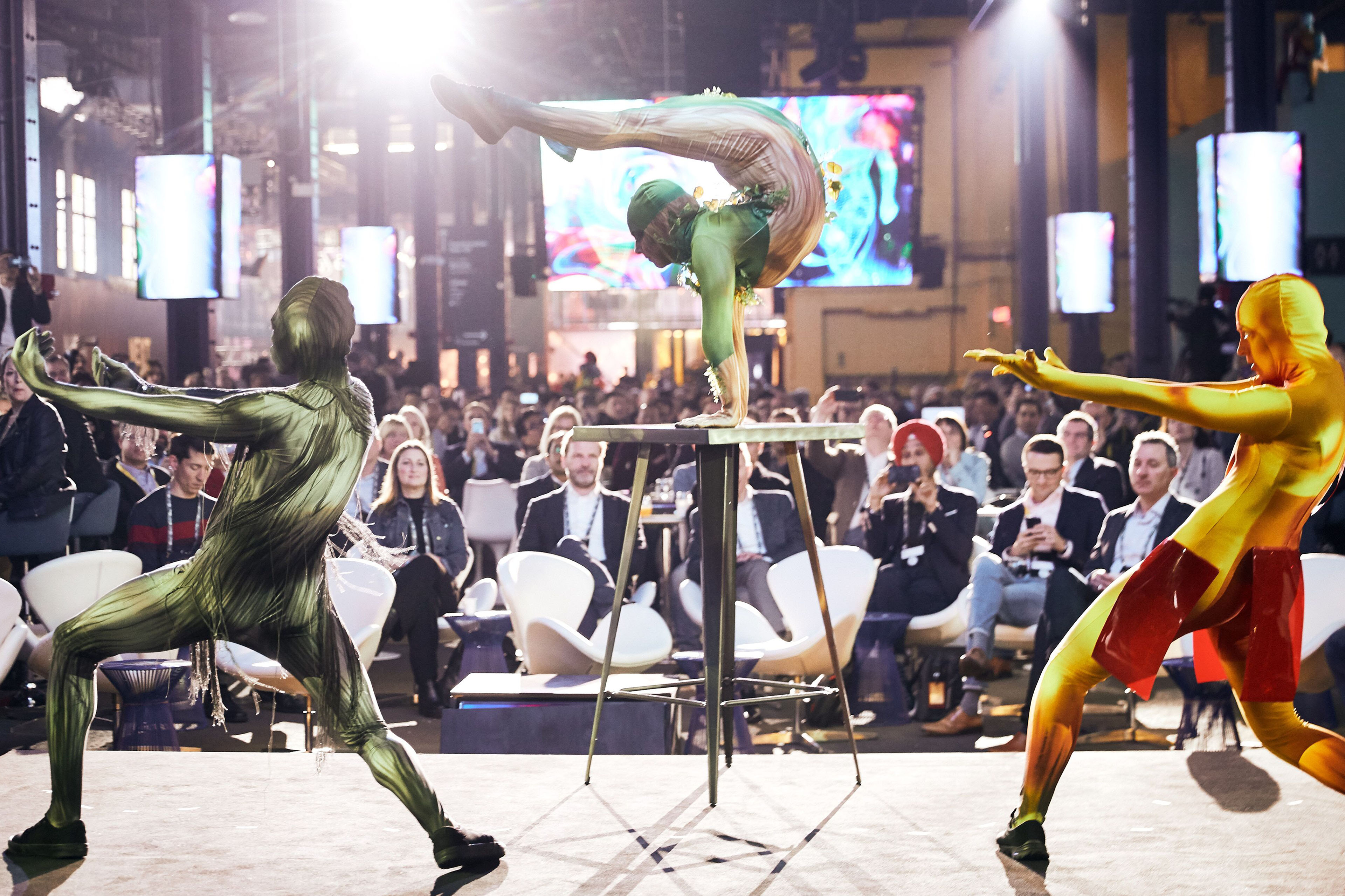 Acrobat performers Innovation Realized