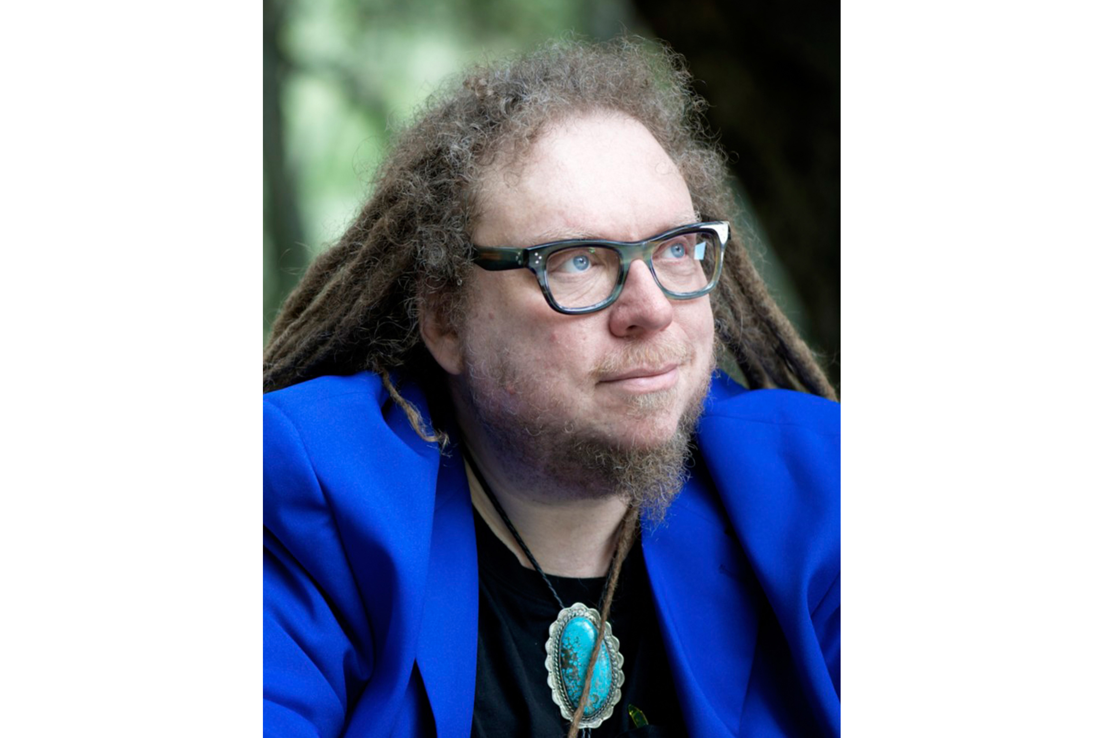 A photographic portrait of Jaron Lanier