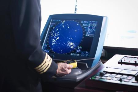 ship captain bridge radar screen