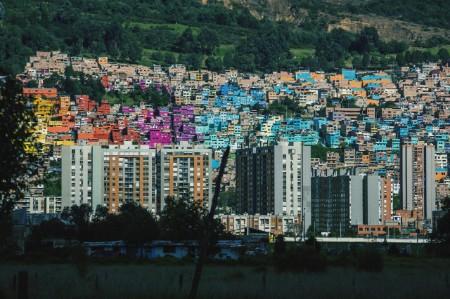 Skyscrapers in Bogota Columbia