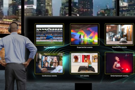 Tv output manager looks at content on multiple screens