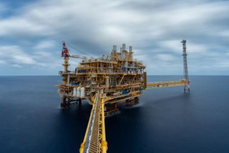 Plataforma offshore de produção de petróleo