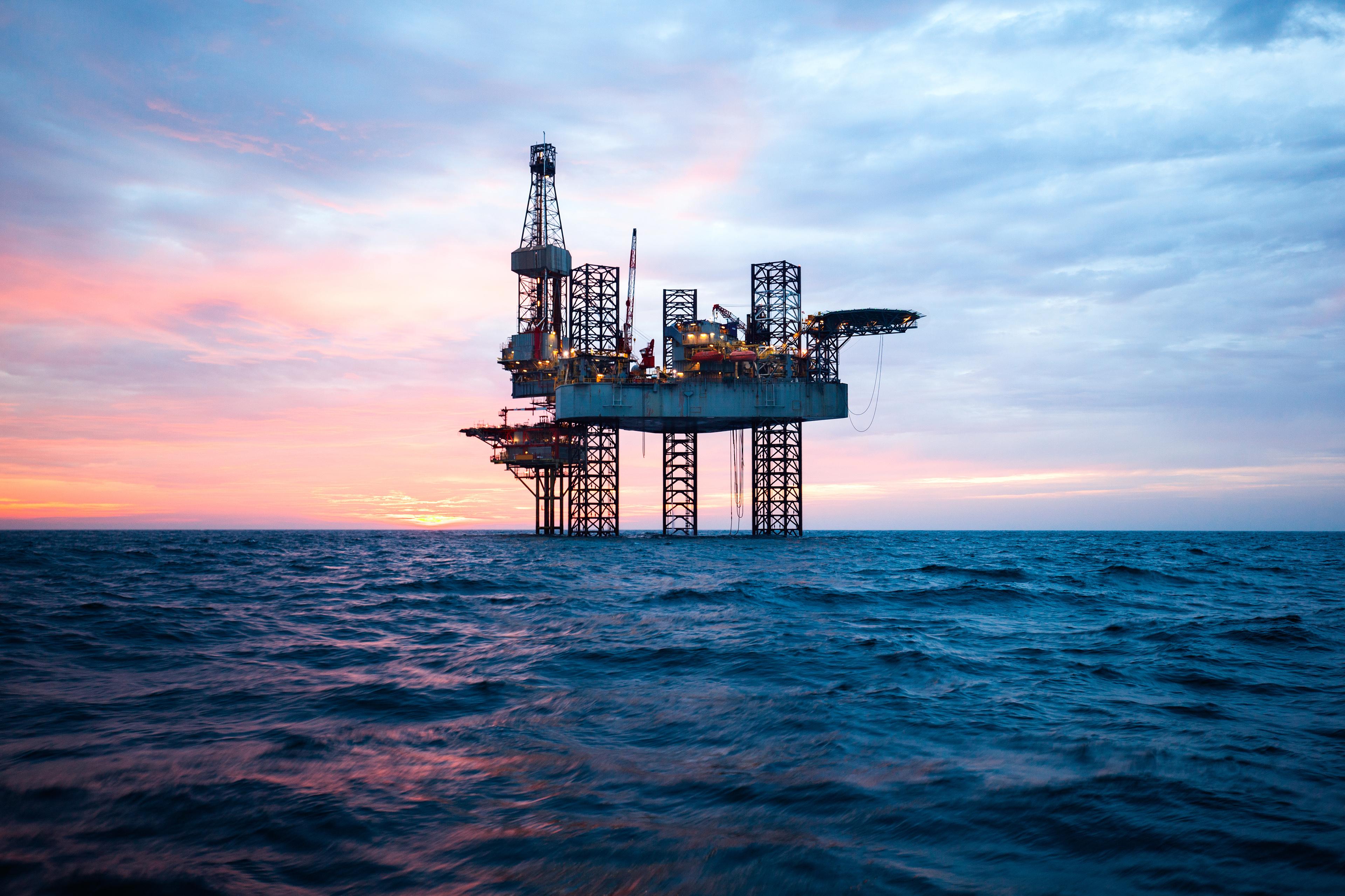 offshore rig sea