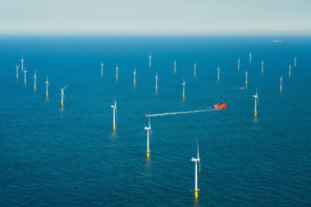 Offshore wind farm Borselle windfield Netherlands