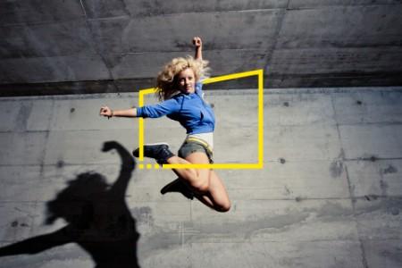 Woman dance jump