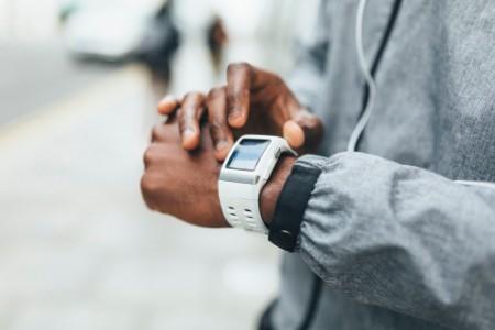 Athlete smart watch