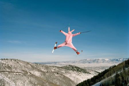 Bunny ski jump