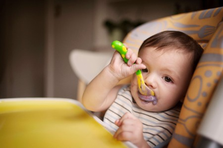 baby feeding spoon