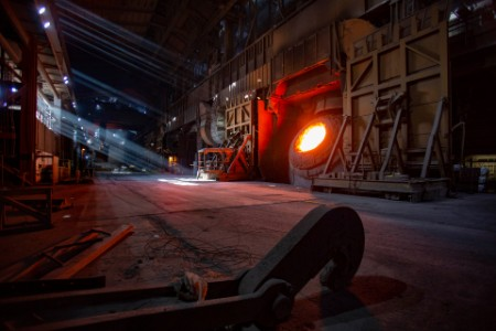 Blast furnaces in the steel production system