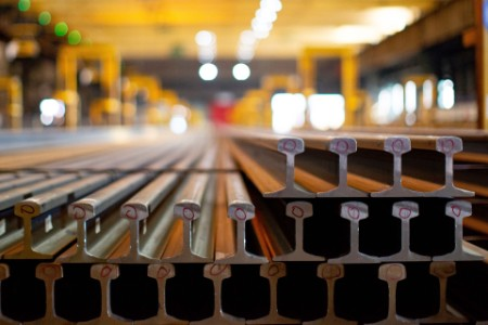 New steel rails at bsl scunthorpe plant