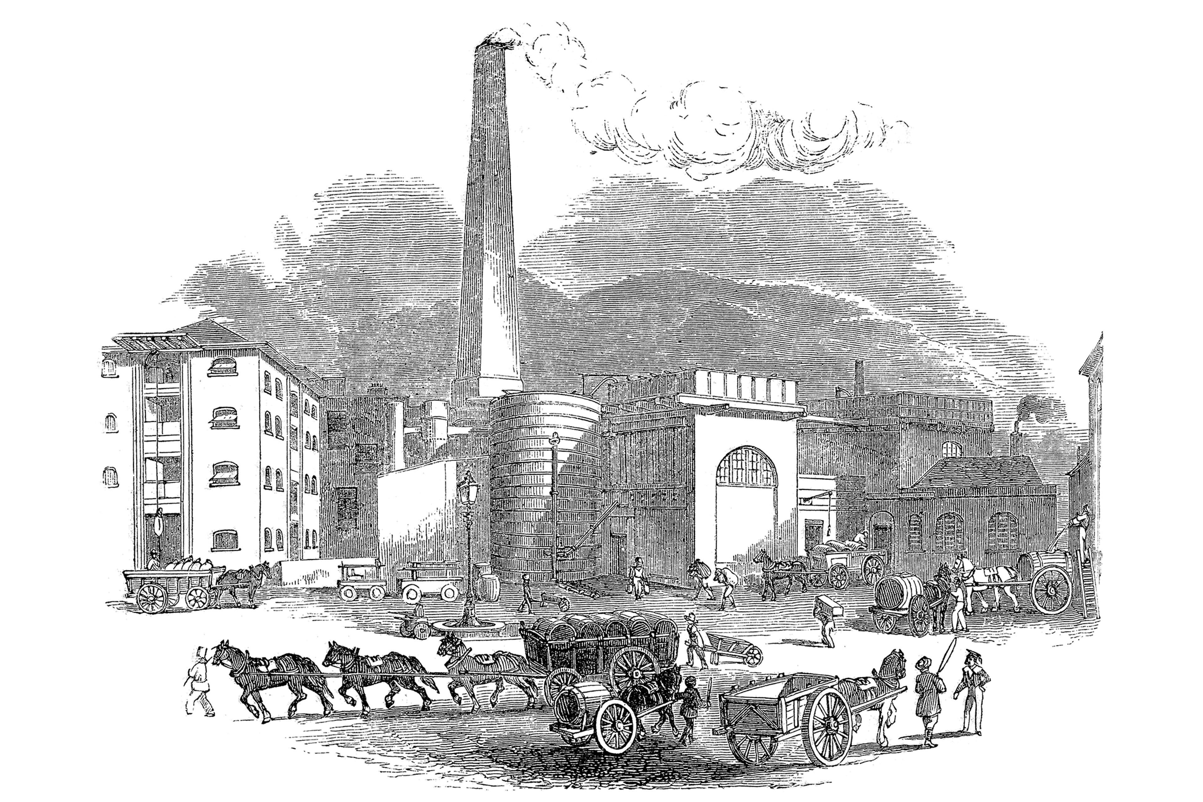 Single malt whisky distillery Thames Bank London