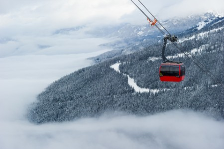 Whistler's world record-breaking peak to peak gondola