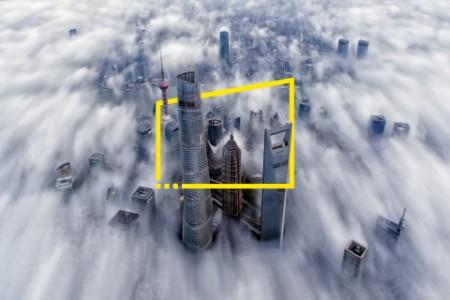 Stadsdimma i Shanghai