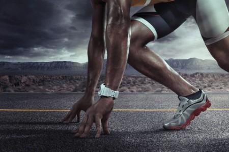 Crouching runner