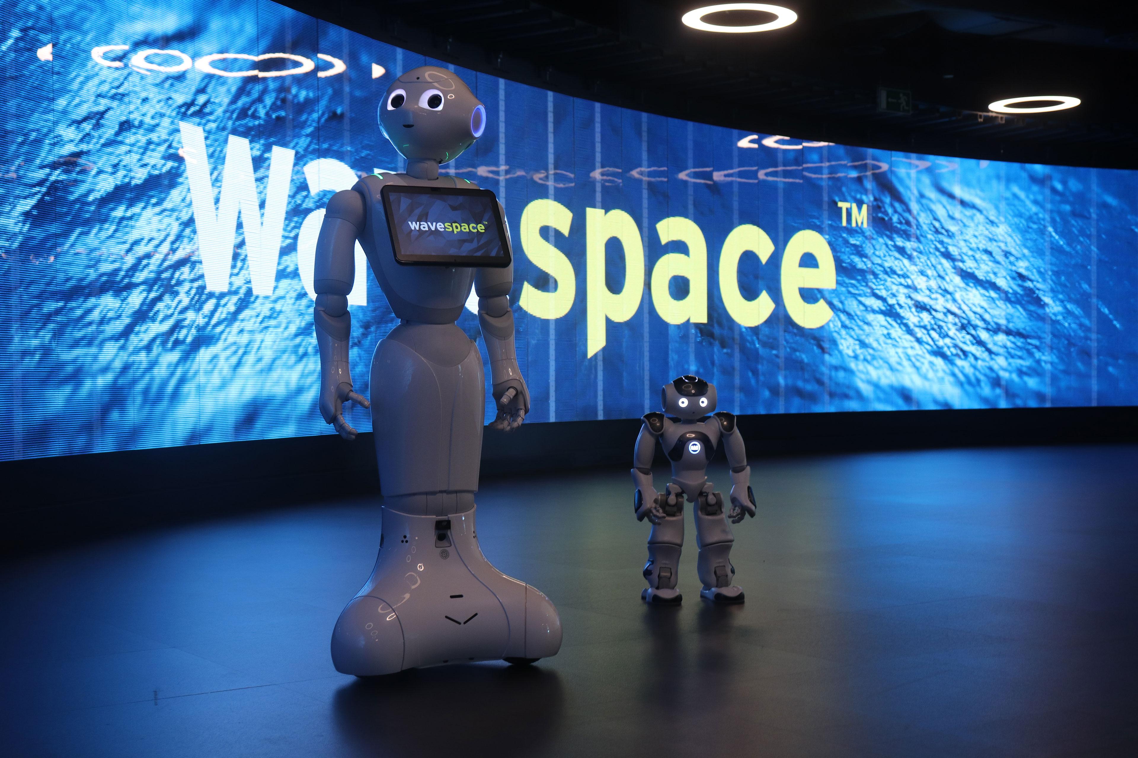 imagen de bots furtivos de EY wavespace Madrid
