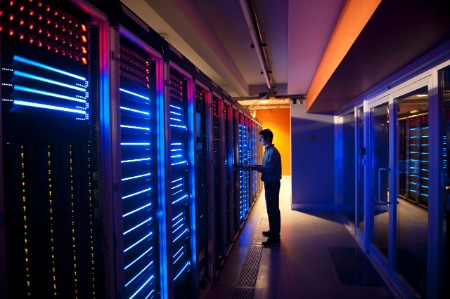 IT Engineer Configuring Servers