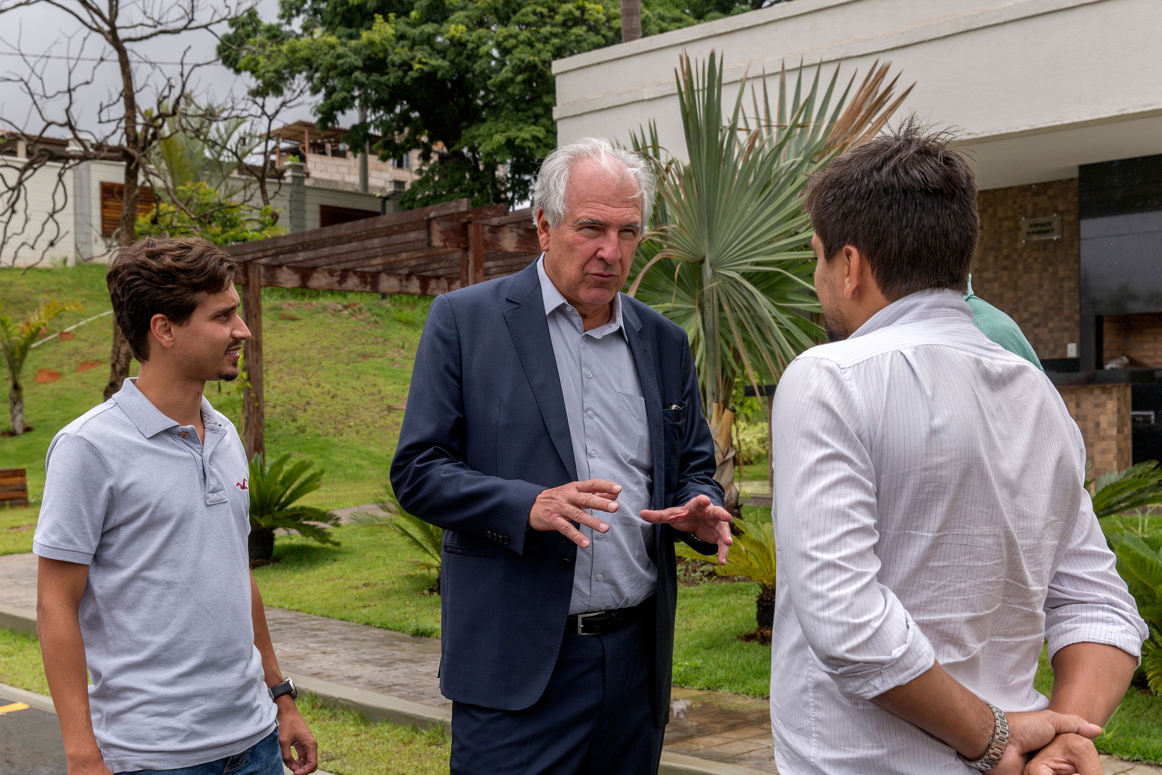 Rubens Menin meets builders Spazio Parthenon