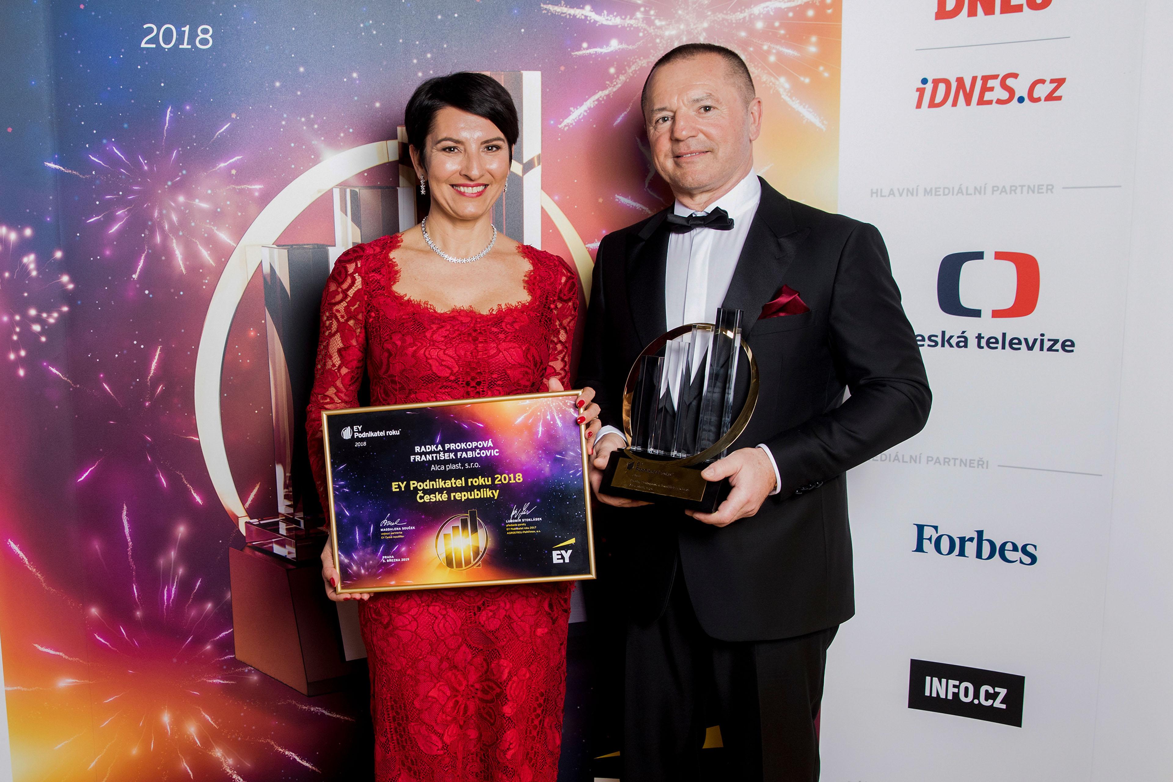 2019 Entrepreneur Radka Prokopová František Fabičovic