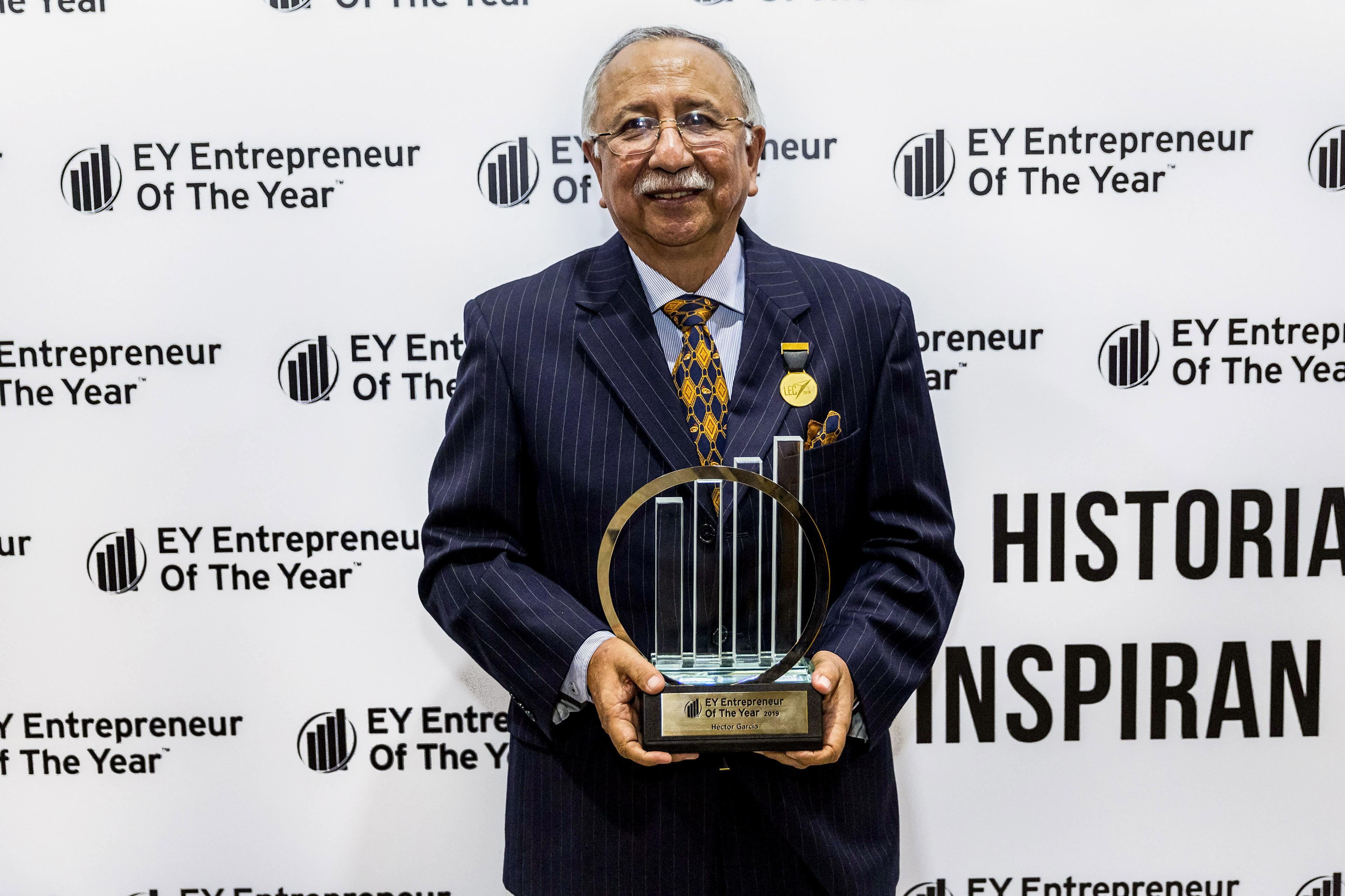 2019 Entrepreneur Héctor García Béjar