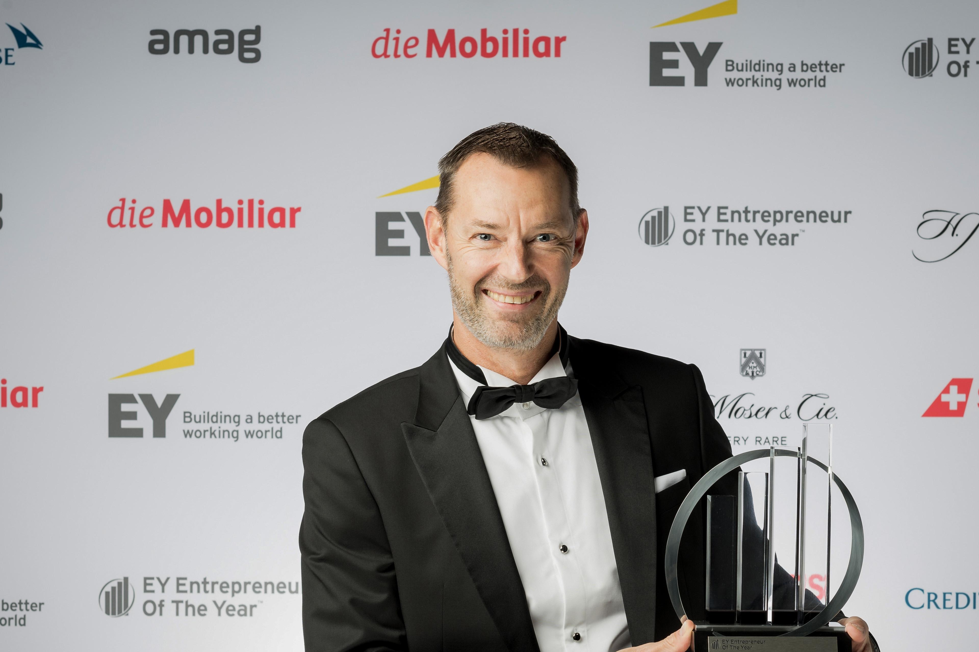 2019 Entrepreneur Dr. Christian Brönnimann