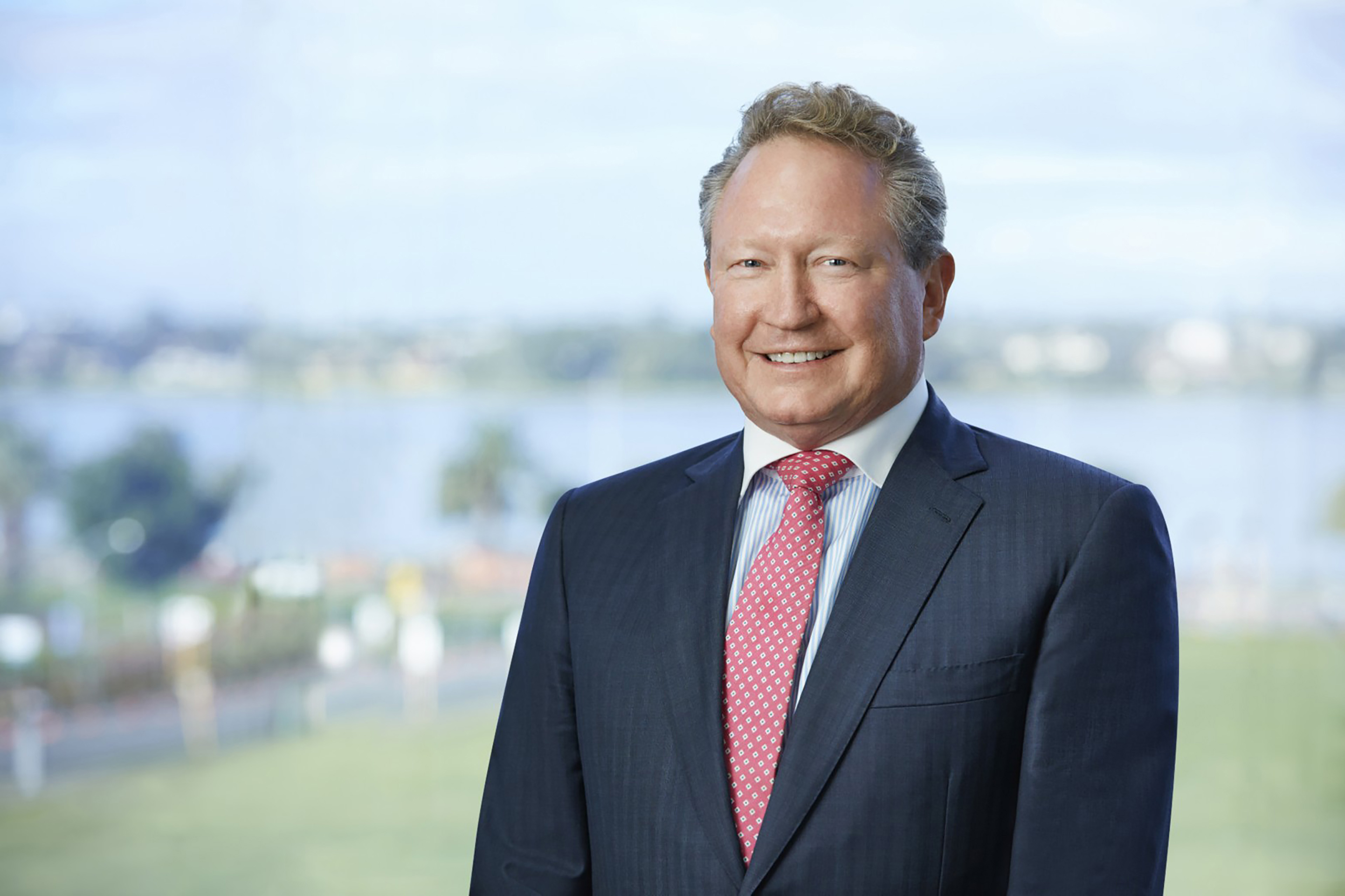 A photographic portrait of Andrew Forrest