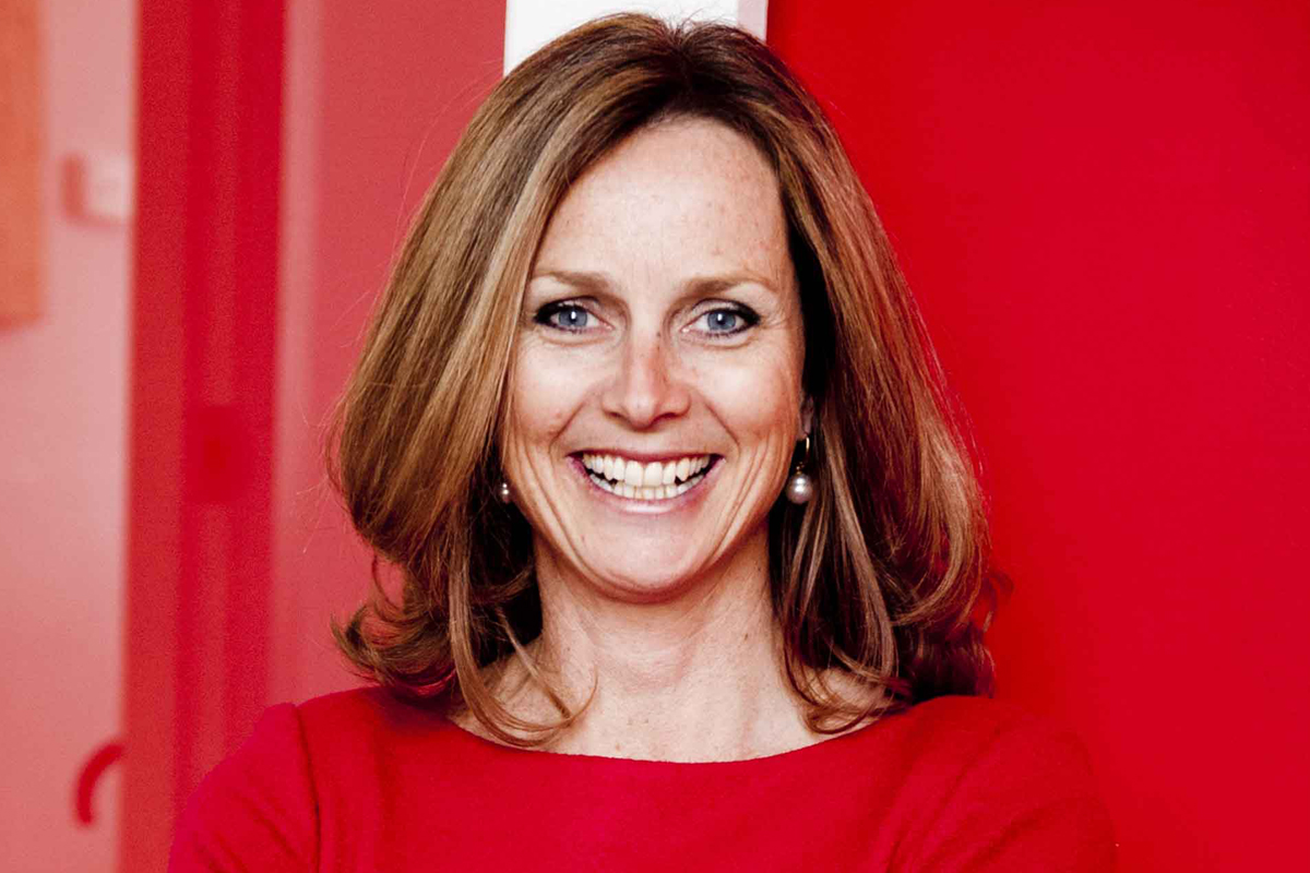 Photographic portrait of Naomi Simson