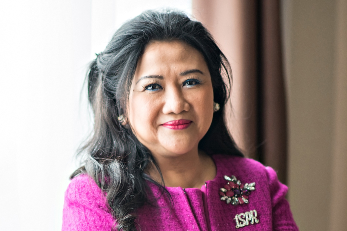 Photographic portrait of Prita Kemal Gani