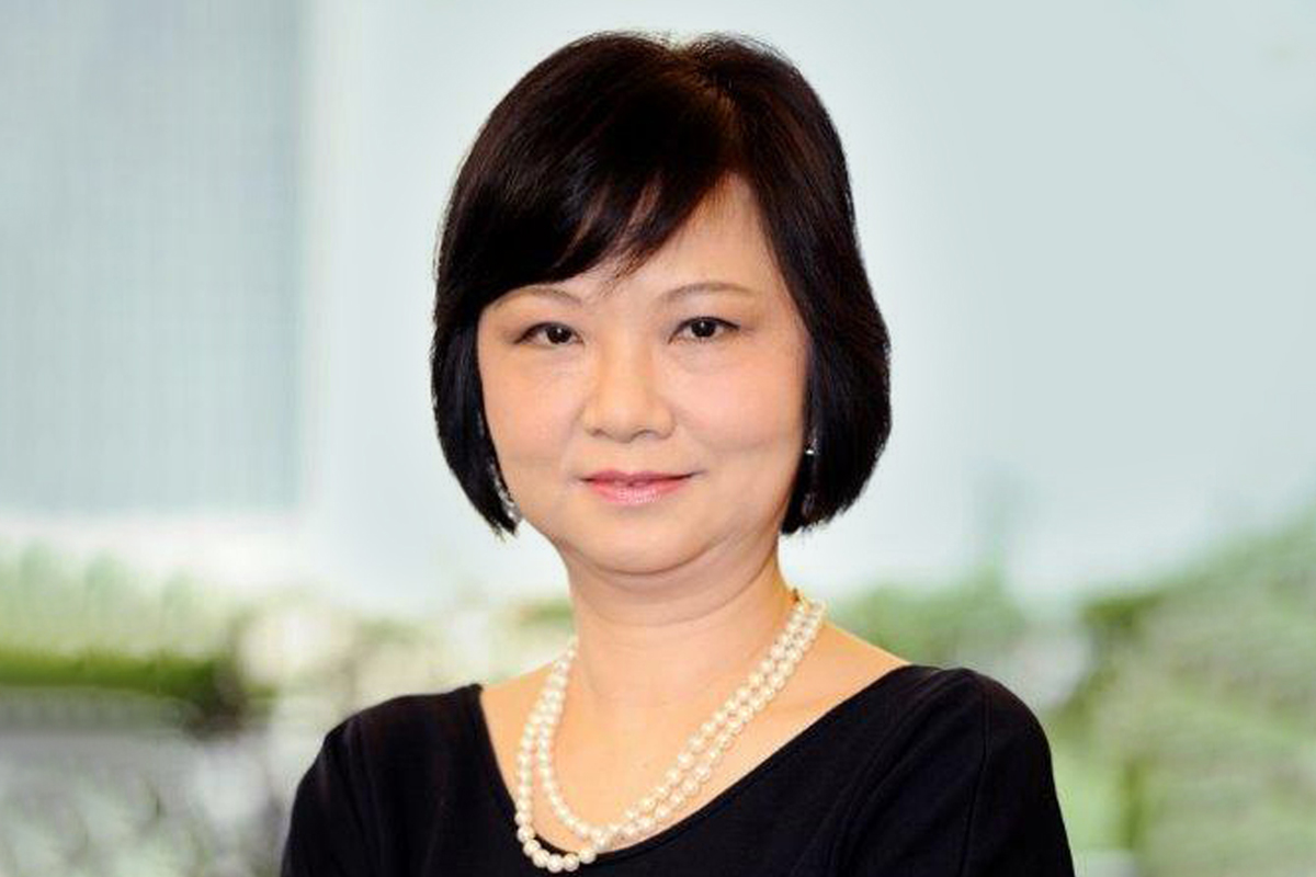 Photographic portrait of Stella Fung