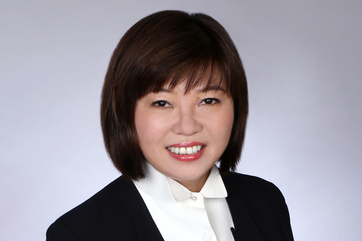 Photographic portrait of Jill Ang