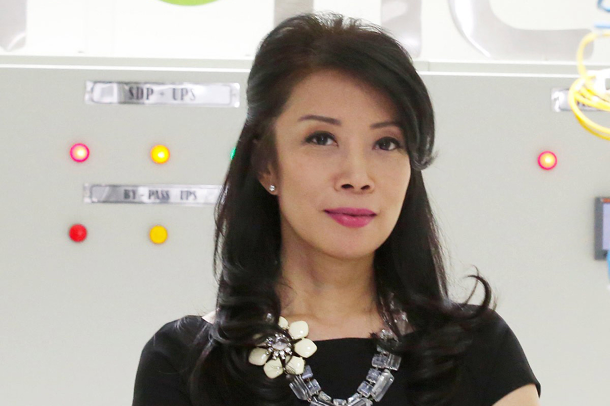 Photographic portrait of  Caroline Gondokusumo