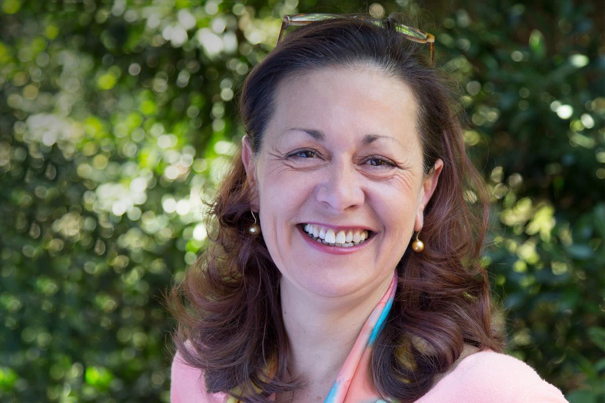Photographic portrait of Corinne Bot