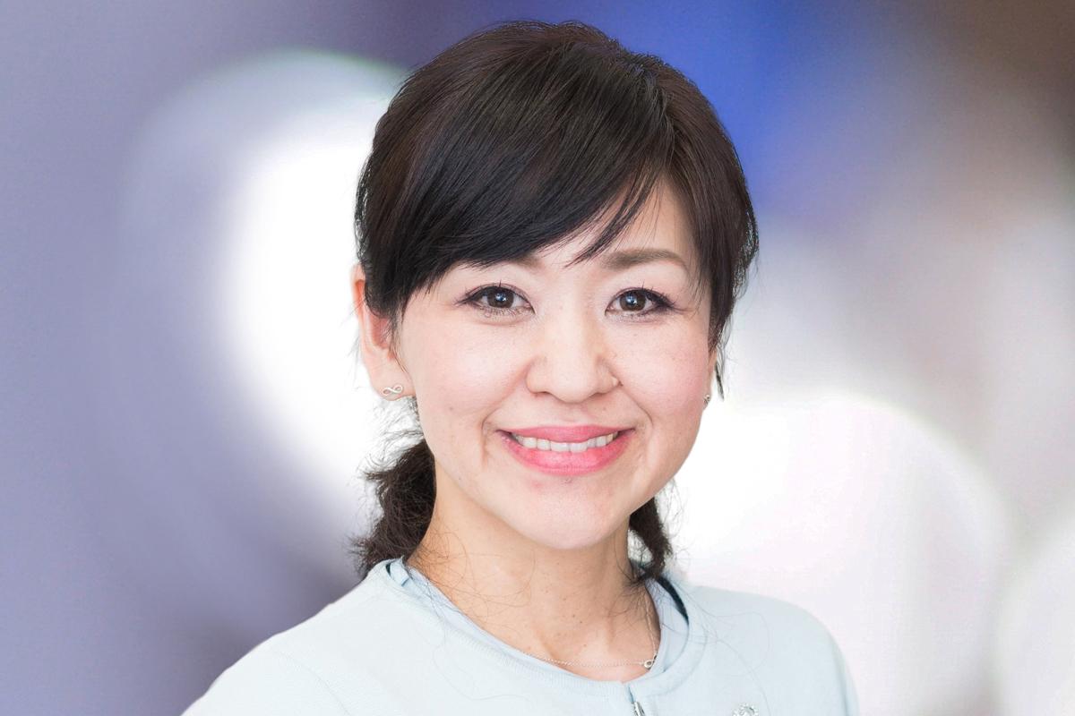 Photographic portrait of Fumiko Kawashima