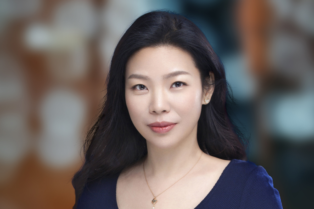 Photographic portrait of May Cheung