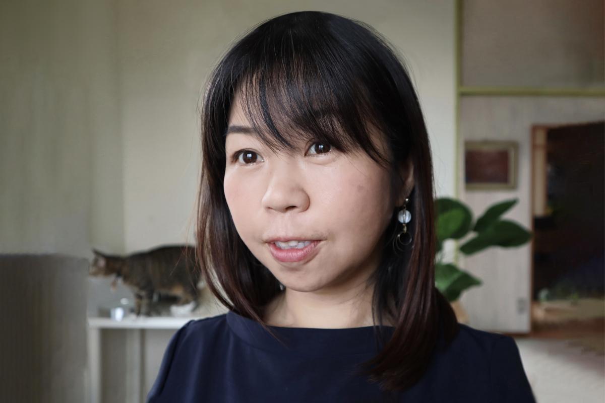 Photographic portrait of Takako Kurosu