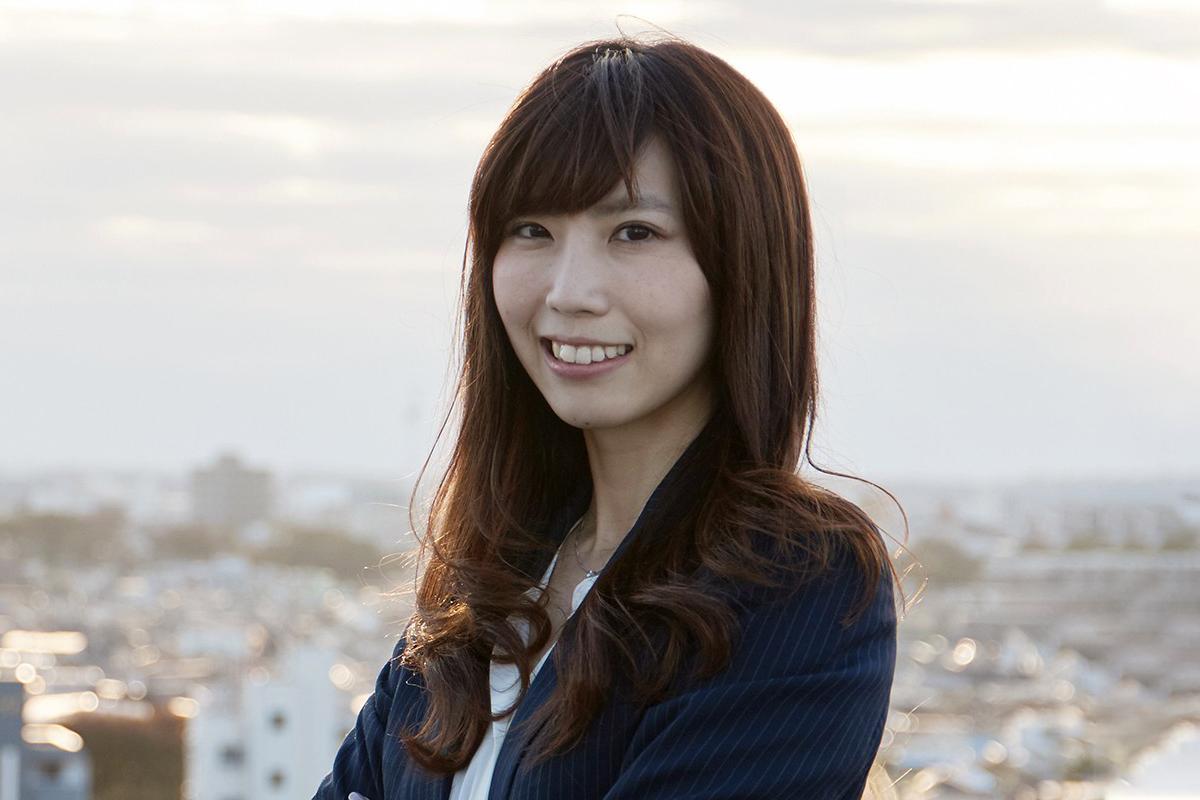 Photographic portrait of Eriko Kikuchi