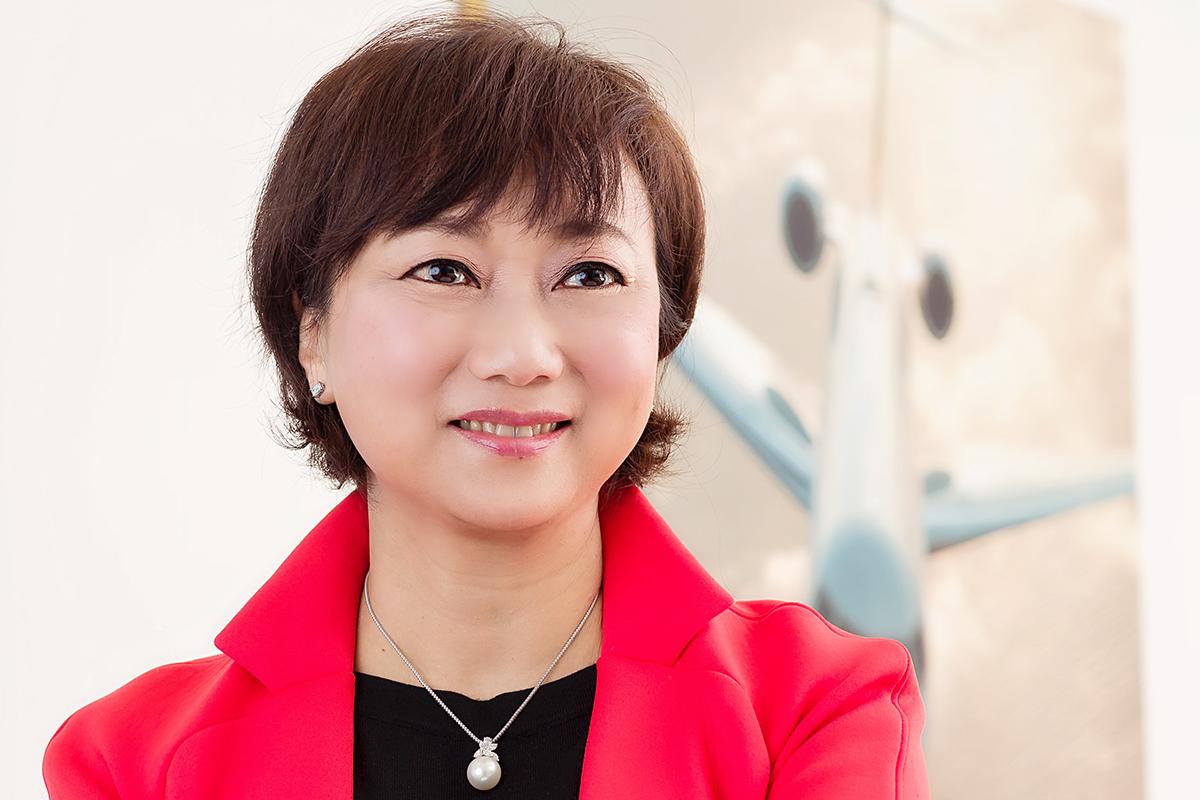 Winning women Asia-Pacific Diana Chou