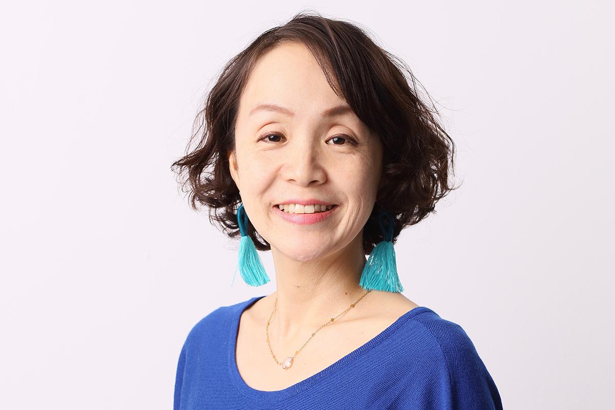 Photographic portrait of Lina Sakai