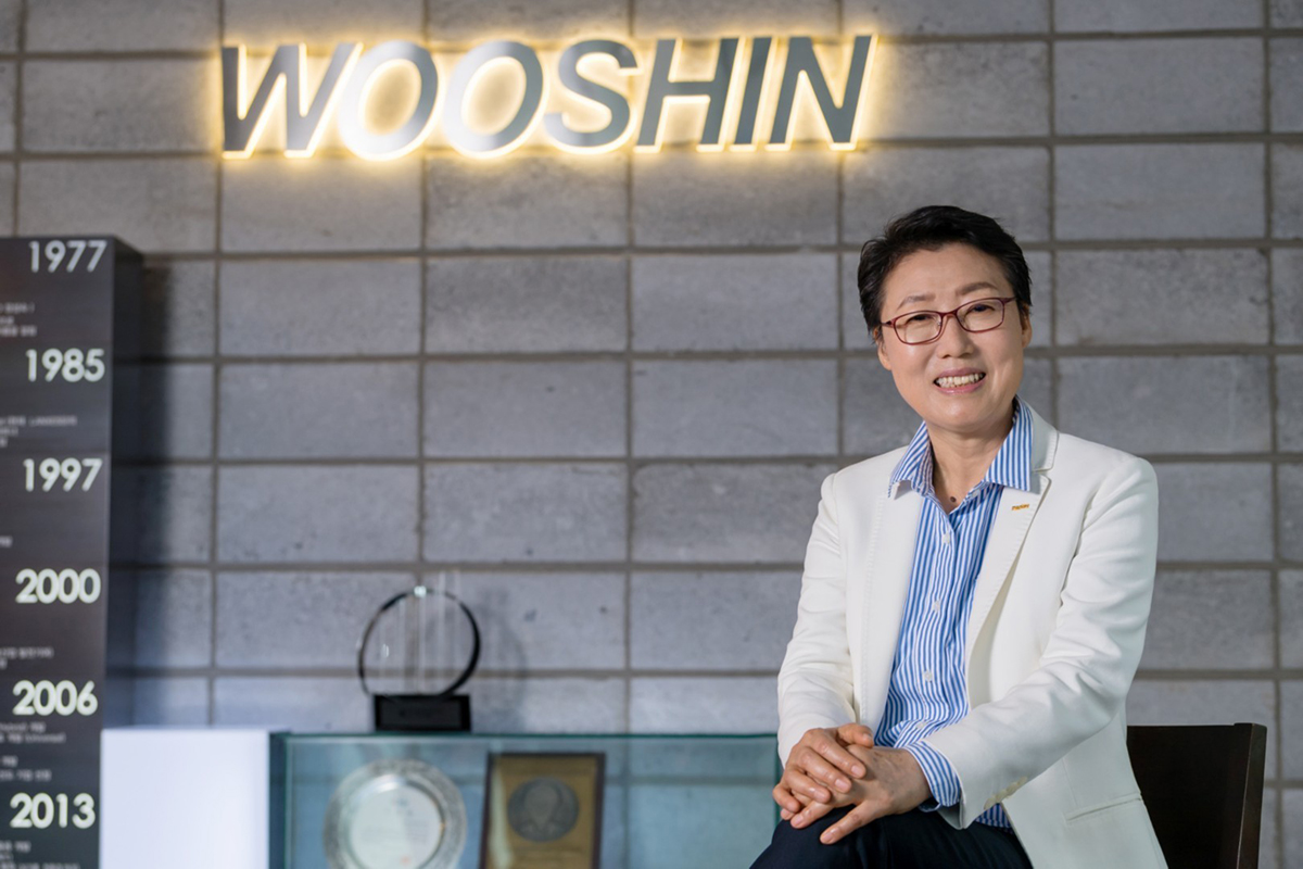 Winning women Asia-Pacific Sung Sook Chang