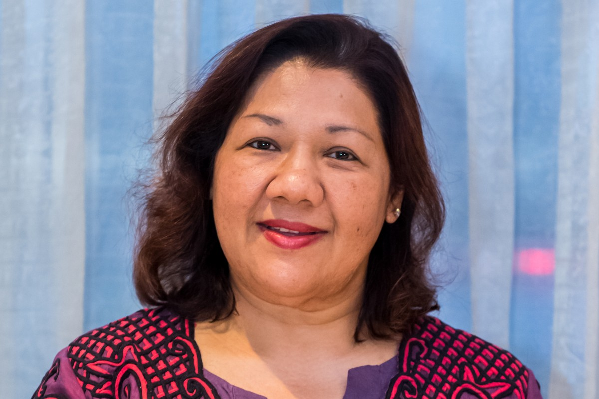 Photographic portrait of Datuk Rosaline Ganendra